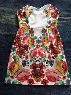 Mink pink spring/summer dress