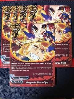 Buddyfight H-BT04 Common Cards