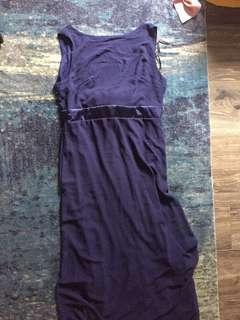 Stunning maxi length formal dress