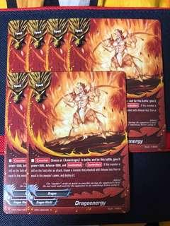 Buddyfight CP01 Common Cards