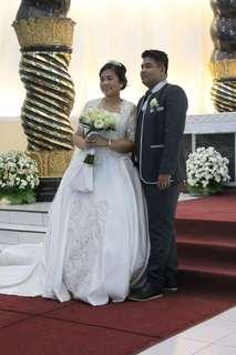 Wedding Gown & Suit
