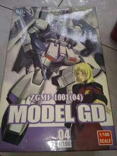 Action figure gundam