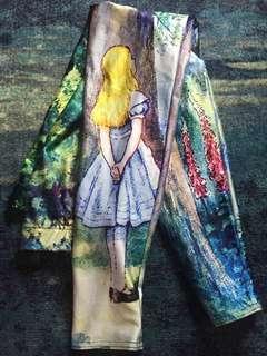Black milk Alice in wonderland leggings