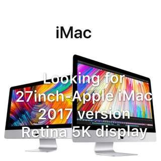 🎀Looking for Apple 27-inch iMac 2017 version🎀