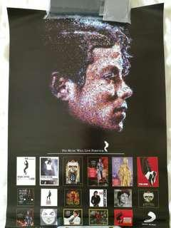 Poster Michael Jackson - His Music Will Live Forever