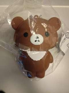 7-11 鬆弛熊立體手挽MINI BAG(茶小熊款)