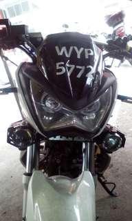 Kawasaki Z250 indon headlamp