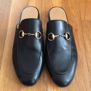 824c323d3 100% AUTHENTIC SZ40 GUCCI PRINCETOWN MULES, Women's Fashion, Shoes ...