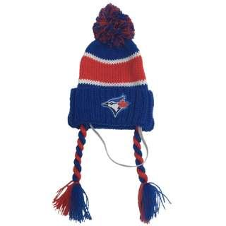 BNWT Puppy Blue Jays Knitted Hat (Small)