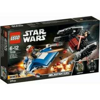NEW! LEGO Star Wars Microfighters 75196