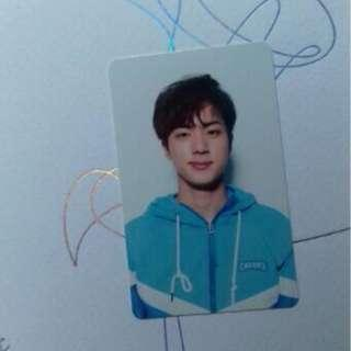 photocard official jin bts love yourself official jin pc V version
