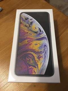 iPhone xs max 258GB silver 全新 銀色