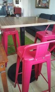 Set meja makan tinggi   ( 3kerusi)