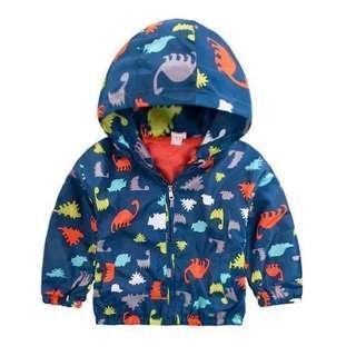 Wind proof dinasaur design Jacket