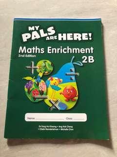P2. Maths Enrichment, $2/-