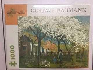 🚚 Pomegranate Gustav Baumann進口拼圖1000片
