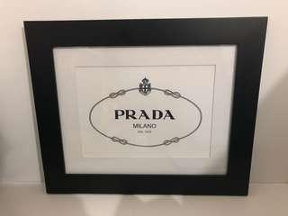Prada Milano Art - 17.5 by 14.5 inches