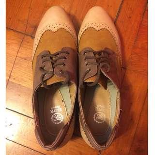 英倫女裝鞋 38碼