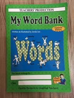 My Word Bank - English Language