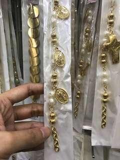 st benedict, miraculous medal bracelets