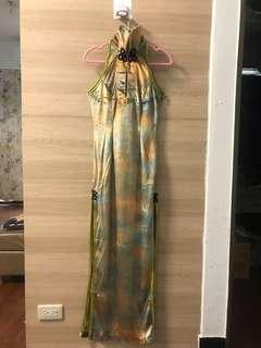 🚚 旗袍式立領禮服