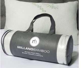Brand New Millano Bamboo Memory Foam Pillow
