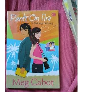 Novel Meg Cabot Pants On Fire
