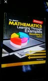 All about mathematics learning through examples Sec 2 express