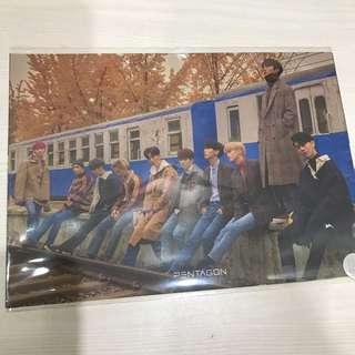 WTS PENTAGON DEMO02 runaway postcard+sticker set