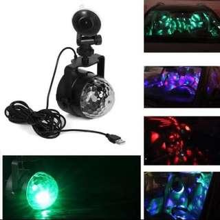 🚚 In Car LED Party Light