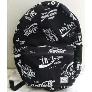 Herschel Limited Edition Coca-Cola Black and White Backpack