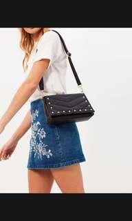Missguided Black Pearl Bag
