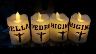 Customized LED candle