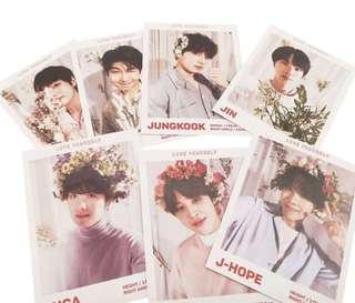 ✨ [PO] bts lomo cards / photocards