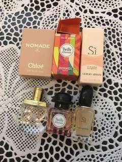 Chloe , Hermès , Armani Si
