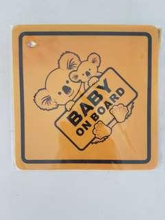 "Cute ""Baby on Board"""