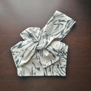 Sheike Angelic Ribbon Cutout Top