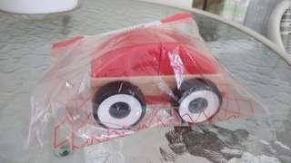 Lillabo toy car red ikea