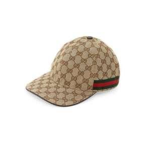Men's Gucci hat and cap