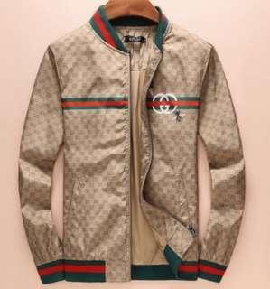 Men's Gucci jacket and zip-up
