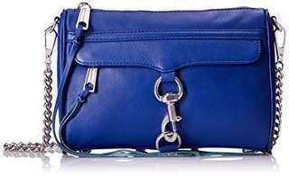 美國 Rebecca Minkoff big size mac Crossbody Bag