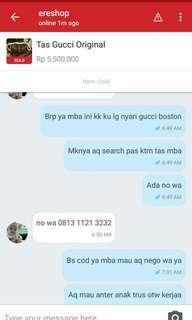 Hati2 ya kl ada cod tp minta dp dl 1 jt sdh deal cod akhirnya canceling deal..sayang pk hijab nya