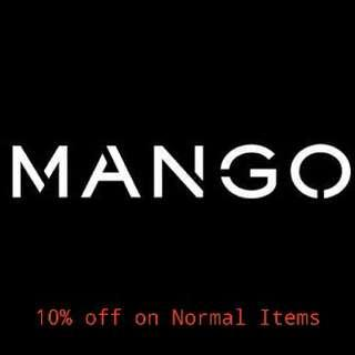 PO Mango 10% discount off on Normal Items