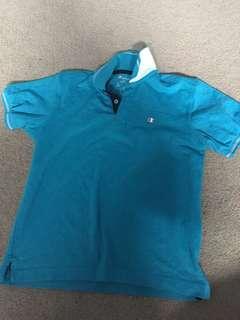 Champion blue top