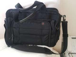 Branded Man's work bag