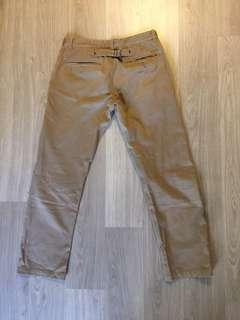 Nike NSW Cinch Back Selvage Chino 長褲 二手 used 34W 443820-230