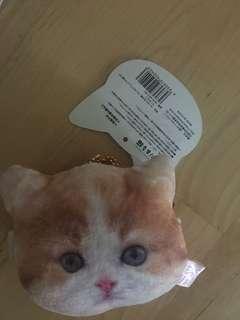 Cat coins bag