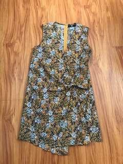 Misguided Floral Dress
