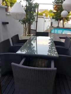 Outdoor Furniture Dining Set