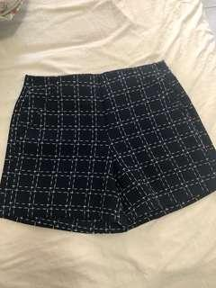 Free with purchases over $30 - New shorts with pockets navy zip side labeled size s would also fit xs